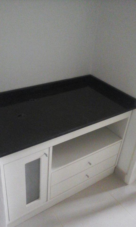 Mueble Bajo Mesada con Granito